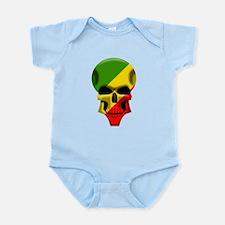 Congo Skull Infant Bodysuit