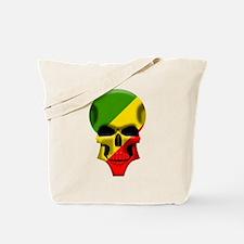 Congo Skull Tote Bag