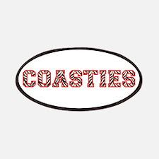 Coasties Zebra Red Patches