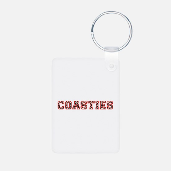 Coasties Zebra Red Keychains