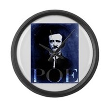 Poe Large Wall Clock