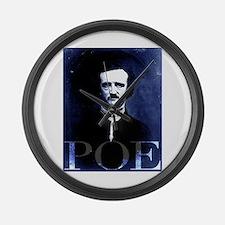 Poe Large Wall Clock