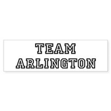 Team Arlington Bumper Bumper Sticker