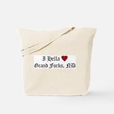 Hella Love Grand Forks  Tote Bag