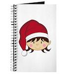 Cute Christmas Elf Journal