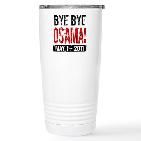 Bye Osama Stainless Steel Travel Mug