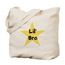 Lil' bro, fun, star, Tote Bag
