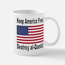 Destroy al-Qaeda Mug