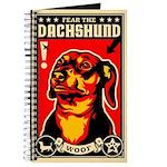 WOOF Fear The DACHSHUND Journal