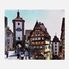 Rothenburg20161201_by_JAMFoto Throw Blanket