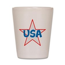 USA, awesome, Shot Glass