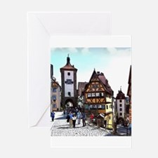 Rothenburg20161201_by_JAMFoto Greeting Cards