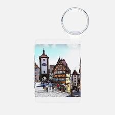Rothenburg20161201_by_JAMFoto Keychains