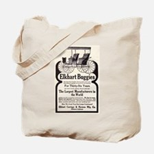 1909 Buggy Ad Tote Bag