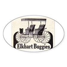 1909 Buggy Ad Decal