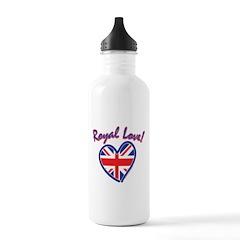 Royal Love - The Royal Weddin Water Bottle