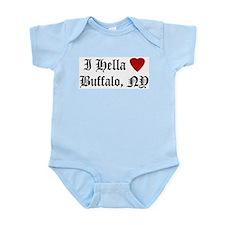 Hella Love Buffalo Infant Creeper