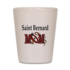 Saint Bernard Mom Shot Glass