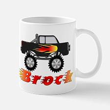 Brock Monster Truck Small Small Mug