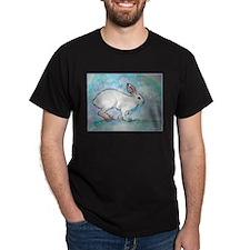 Rabbit! wildlife, winter, art!! T-Shirt