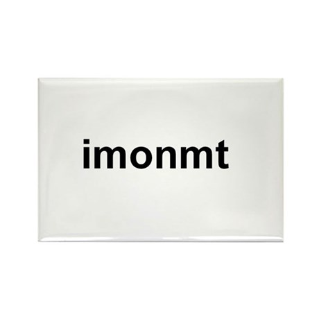 imonmt Rectangle Magnet (100 pack)