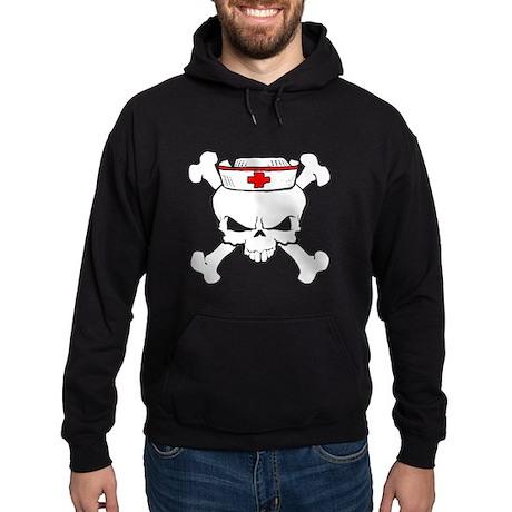 Nurse Skull Hoodie (dark)