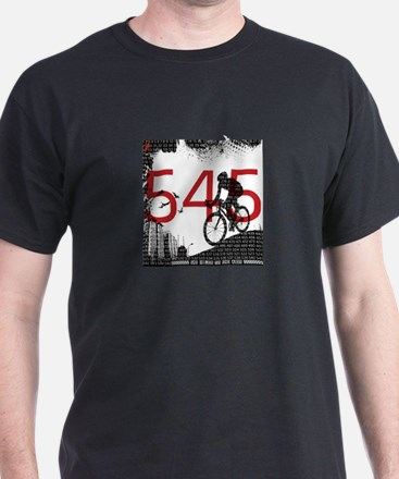 545 Miles To End Aids - T-Shirt