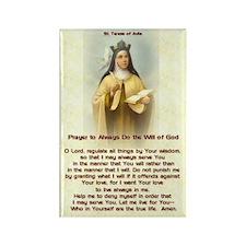 St Teresa of Avila Prayer Rectangle Magnet