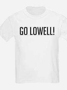 Go Lowell! Kids T-Shirt