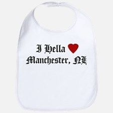 Hella Love Manchester Bib