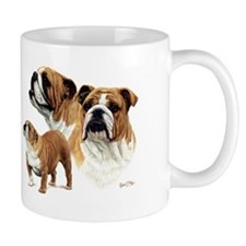 Bulldog Small Mug
