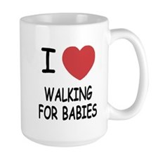 I heart walking for babies Mug