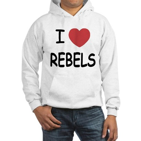 I heart rebels Hooded Sweatshirt