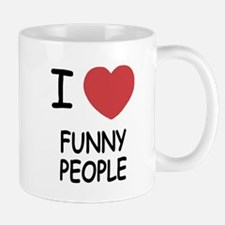 I heart funny people Mug