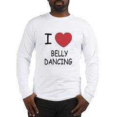 I heart belly dancing Long Sleeve T-Shirt