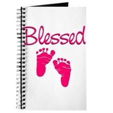 Blessed Pink Feet Journal