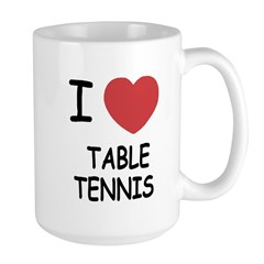 I heart table tennis Mug