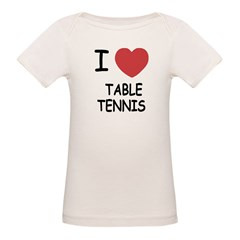 I heart table tennis Tee