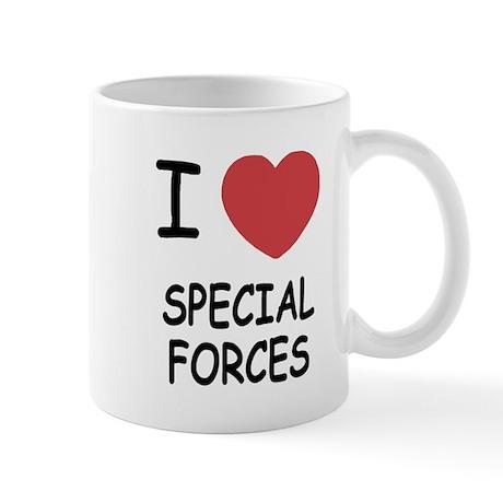 I heart special forces Mug