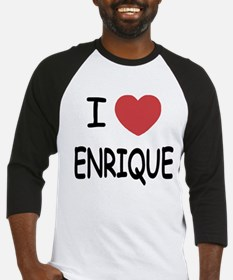 I heart enrique Baseball Jersey