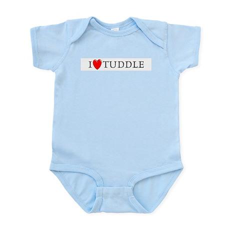I Love Tuddle Infant Creeper
