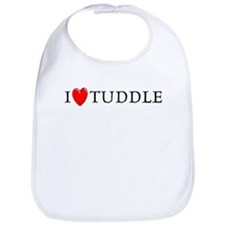 I Love Tuddle Bib