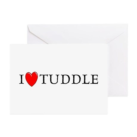 I Love Tuddle Greeting Cards (Pk of 10)