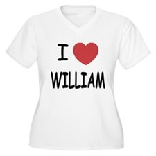 I heart william T-Shirt