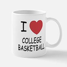 I heart college basketball Mug