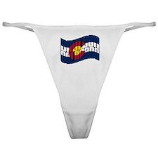 Colorado Flag Classic Thong