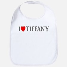 I Love Tiffany Bib
