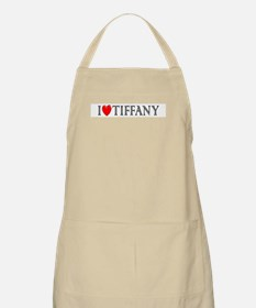 I Love Tiffany BBQ Apron