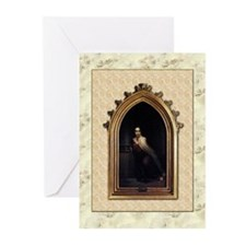 St Teresa of Avila Gothic Greeting Cards (Pk of 10