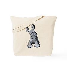 Pocket Rhino Tote Bag